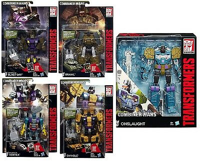 Transformers Combiner Wars Bruticus Onslaught Swindle Blast Off Vortex Brawl Set