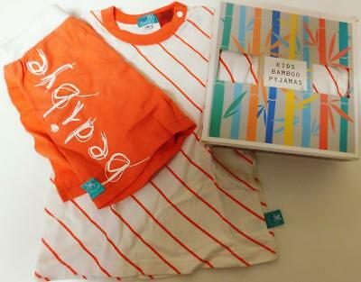New ErgoPouch Bamboo Pyjamas / Coral colour in size 2, 3 & 4