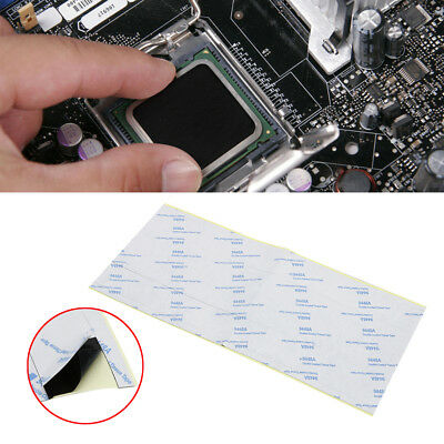 48Pcs Square Double Sided Thermal Adhesive Tape for Heatsink Heat Sink 25*25mm