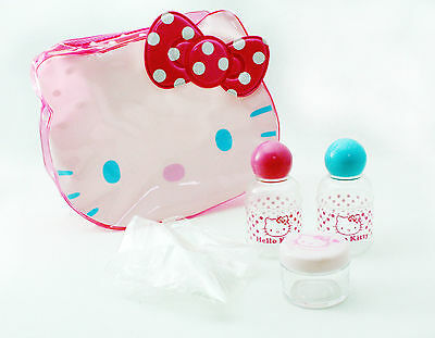 Sanrio Hello Kitty Travel Cosmetic Pouch Set *Free Shipping*