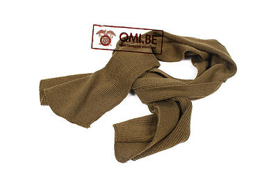 Wool scarf (Olive color)