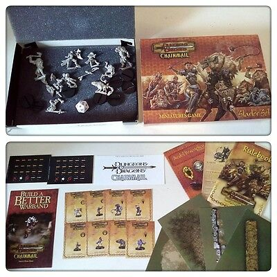 DUNGEONS & DRAGONS Chainmail Starter set miniature game ENGLISH new chain mail
