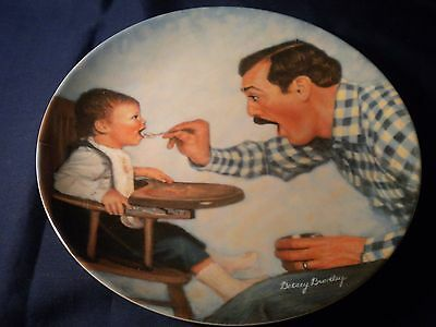 """Knowles Collector Plate~ """"open Wide"""" By Betsy Bradley~   Jw75"""