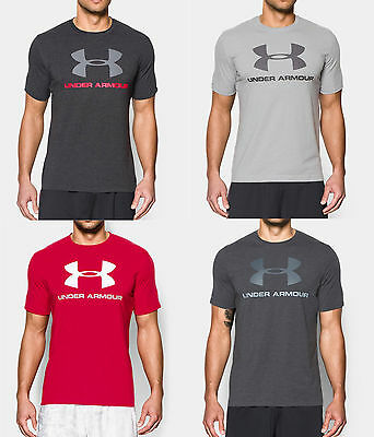 Under Armour Mens UA Sportstyle Big Logo Short Sleeve T-Shirt SS Tee Many Colors