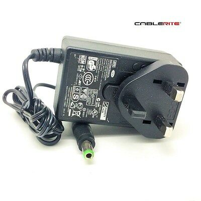 12v BT home hub 4 and 5 type A power supply adapter mains uk plug