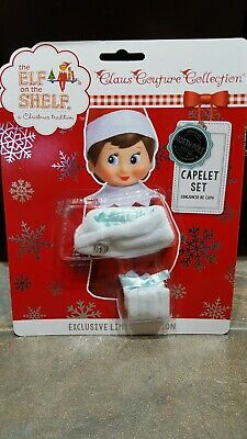 The Elf on the Shelf Couture: Claus Couture Capelet Set for Girl Elf- NIP