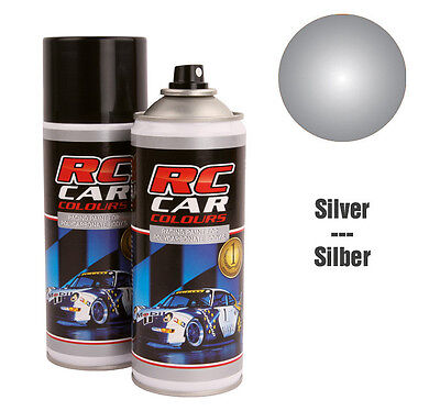 RC Car Colours #RCC933 Lexan Spray Metallic Silber 150 ml GNP: 3,93€/100ml