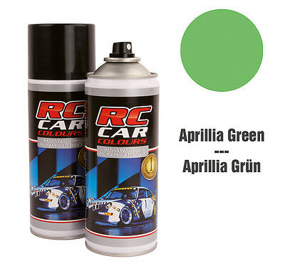 RC Car Colours #RCC944 Lexan Spray Aprillia Grün 150ml GNP: 3,93€/100ml
