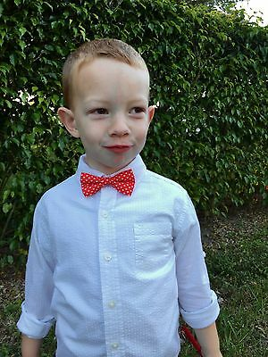 Toddler Heart Bow Tie