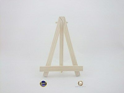 Wood Easel 19 Cm With Chain For Wedding Place, Name Holder Or Table Number