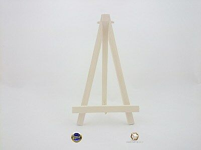 Wood Easel 26 Cm With Chain For Wedding Place, Name Holder Or Table Number