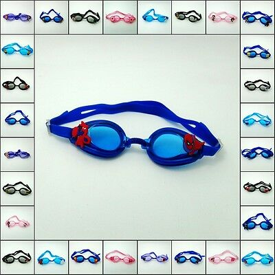 Anti-Fog Silicone Swimming Diving Goggle with Cartoon Cute charms Kids Gifts