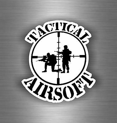 Autocollant sticker voiture moto airsoft tactical softair paintball macbook r2