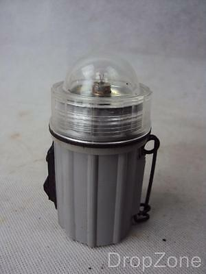 WWII USN Navy Gas Mask, Respirator Torch / Flash Light D31