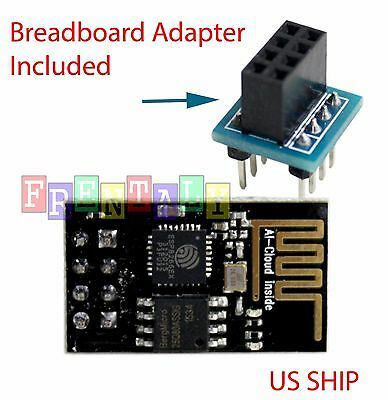 ESP8266 Serial WIFI Wireless Transceiver Module & Breadboad Adapter LWIP AP+STA