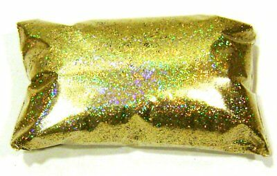 "6oz / 177ml  Gold Jewels Holographic Metal Flake .015"" Auto Paint Additive LF176"
