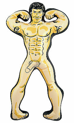 Inflatable Hunk Man 32Cm Blow Up Doll Willy Girls Hen Night Joke Party