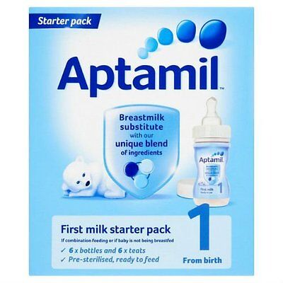 Aptamil 1 First Milk Ready Made from Birth Onwards Stage 1 Starter 70ml Pack Of