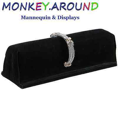 Med Size Black Bangle Stand Showcase Display's Bracelet Jewelry Cuff Watches