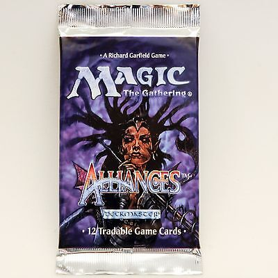 MTG: ALLIANCES Sealed Booster Pack - Magic the Gathering - Ice Age Block