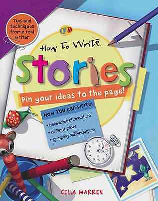 How To Write Stories - 28 Page Instructional - Celia Warren - Free Postage