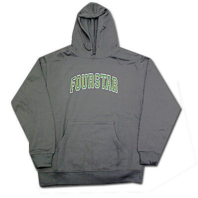 Fourstar - Arched Hoodie Charcoal