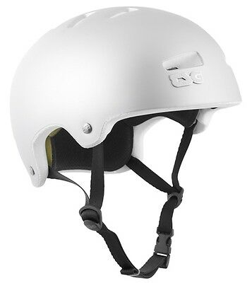 TSG - Superlight Satin Matt Silver Helmet