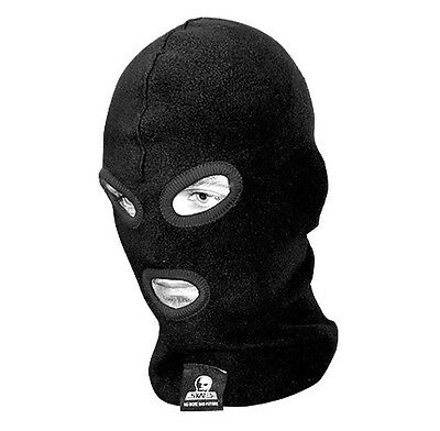 Skull Skates - Fleece Mask Balaclava Black