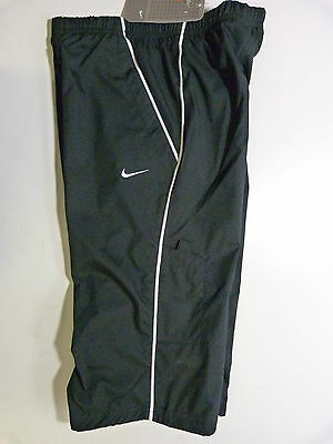 New Girls Nike Black 3/4 Cropped Capri Pants Trousers Bottoms Joggers All Sizes