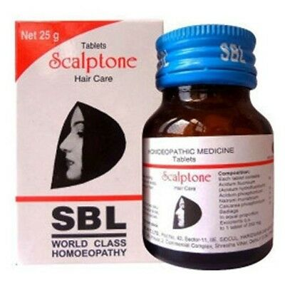 Homeopathy Scalptone Tablets For Hair Care hair fall ,Dandruff,itching,iritation