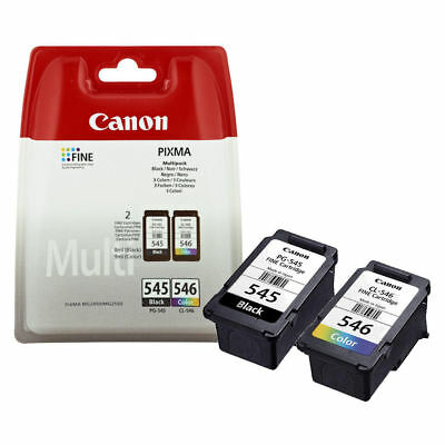 Canon PG545 Black & CL546 Colour Ink Cartridge For PIXMA MG2950 Printer