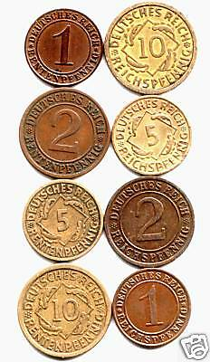 TRICK OF THE EYE or TRICK OF THE TREASURY? 8 DIFF RARE 1920's COINS! READ STORY!