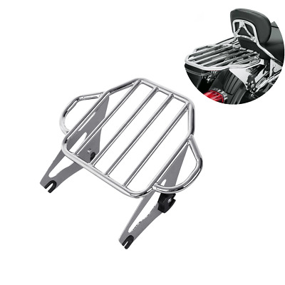 Two Up Tour Pak Mounting Luggage Rack For Harley Street Glide Road Glide 2009-18