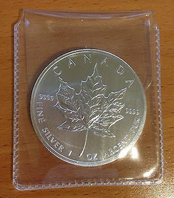 CANADA 2013 $5 Silver Maple Leaf 1 OZ .9999 BU Coin RCM FREE SHIP
