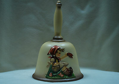 """Goebel Hum #701 """"Farewell"""" Annual Bell Bas-Relief 2nd Ed. 1979. Made in Germany."""