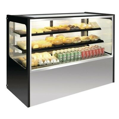Polar Stainless Steel Polar Refrigerated Deli Showcase 400 Ltr GG217