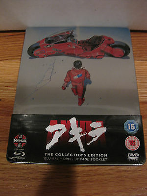 Akira Steelbook Blu-ray and DVD Combo +32 page booklet Brand New and Sealed.
