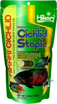 Hikari Cichlid Staple Pellet 250 gr* BABY,MINI,MEDIUM,LARGE* Tropical Fish Food