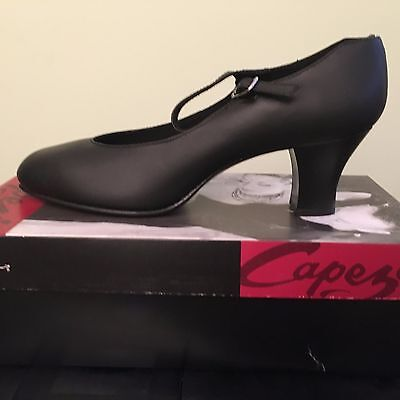 Capezio Women's Character Shoe Style 650 Black NEW IN BOX