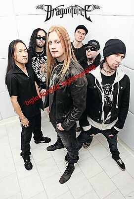 "DragonForce Heavy Metal Band Music Poster #2 24""x35"""