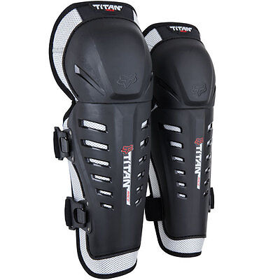 FOX Titan Race Knee Guards MX Protective Dirt bike Wear Gear Off Road