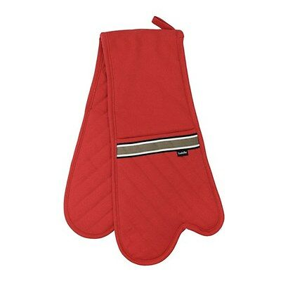 Ladelle Professional Series Red Double Oven Mitt Brand New