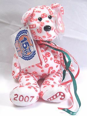 """Chou Store """"Candy Canes"""" Merry Christmas 15th Anniversary Bean Bag Toy 12/23/12"""