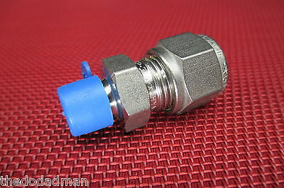 SSP Grip® 3/8 Tube OD x 1/8 NPT Male Pipe STRAIGHT CONNECTOR 316 Stainless Steel