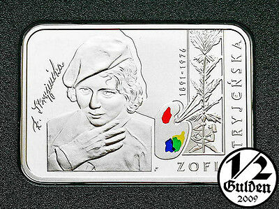 POLAND 20 Zlotych 2011Zofia Stryjenska Silver Proof Coin Polish Mint