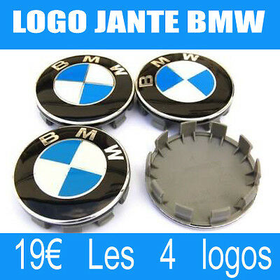 logo bmw centre roue cache moyeu jante 68 mm embl me badge. Black Bedroom Furniture Sets. Home Design Ideas