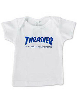 Thrasher - Skate Mag Infant White Tee