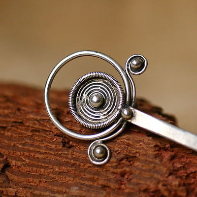 Unique Tribal Ethnic Miao Handmade  Hairpin / Jh055