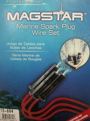 Magstar Marine Spark Plug Wires Mercruiser Replacement - Ignition Leads