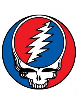 "Grateful Dead Steal Your Face 5"" SYF Sticker Jerry Garcia Deadhead"